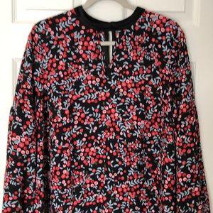 Loft Floral Dress size Lg. NWT